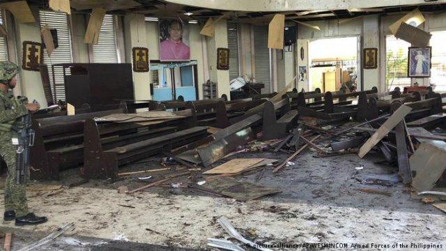 Estado Islámico reivindica el ataque contra la catedral en Filipinas