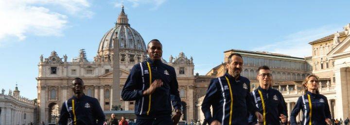 Nace la 'Athletica Vaticana': los maratonianos del Papa