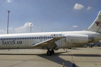 Este avión abandonado en el aeropuerto de Madrid podría ser subastado el próximo año