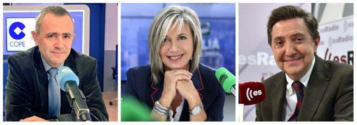 El estacazo de Losantos a Julia Otero y a la COPE por su tibieza para condenar el golpismo catalán