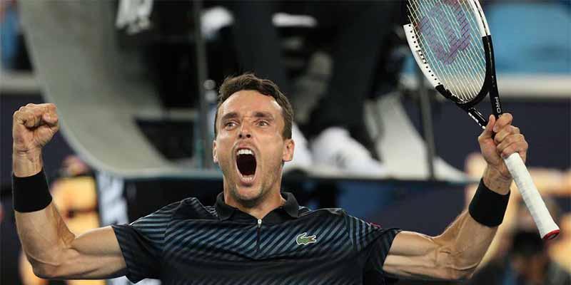 Roberto Bautista elimina al gran Cilic y llega por primera vez a cuartos de final de un Grand Slam