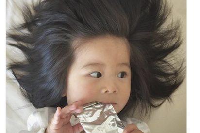 El bebé con el pelazo que lo peta en Instagram ahora es modelo de Pantene