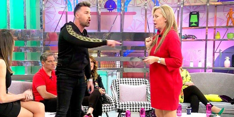 Belén Esteban saca las uñas contra Rafa Mora por defender a Ylenia Padilla