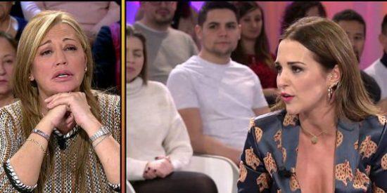 Guerra entre las 'niñas mimadas' de Paolo Vasile: la amenaza de Belén Esteban a Paula Echevarría