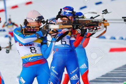 El equipo femenino ruso de biatlón gana una etapa de la Copa del Mundo por primera vez desde 2012