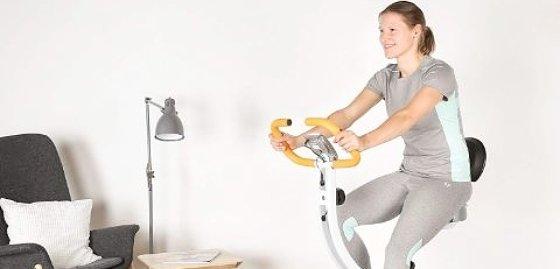 Bicicletas estáticas con respald