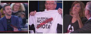 """Buenafuente no escarmienta y monta una ratonera en TV3 contra Bou (PP): """"¡Manipulador, ultraderechista!"""""""