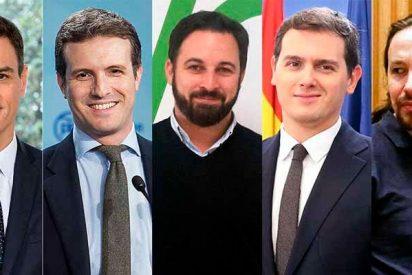 España: La debacle de Podemos y la irrupción de VOX dan hoy mayoría absoluta al centroderecha