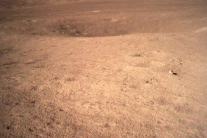 La sonda china Chang'e-4 envía la primera imagen de la historia tomada en la cara oculta de la Luna