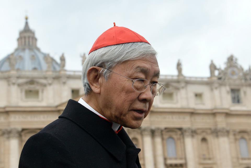 Zen defiende al Vaticano en su elección del administrador apostólico de Hong Kong