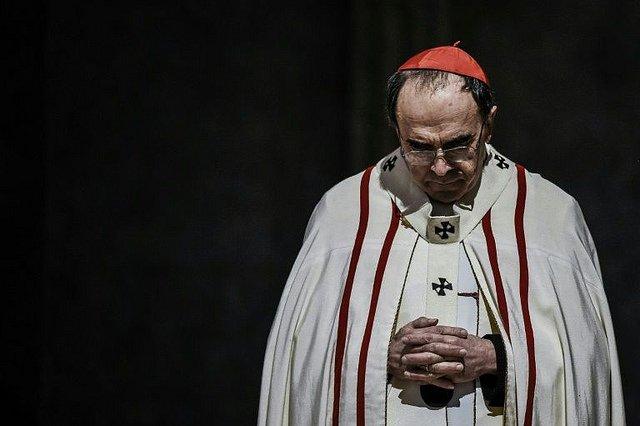 El cardenal Barbarin, a juicio por guardar silencio sobre casos de abusos