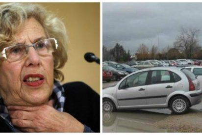 El infierno diario de los vecinos de Cuatro Vientos: los aparcamientos disuasorios que prometió Carmena y que jamás se hicieron