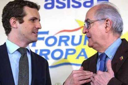 """Pablo Casado: """"Hay que hacer un embargo a los bienes chavistas en España"""""""