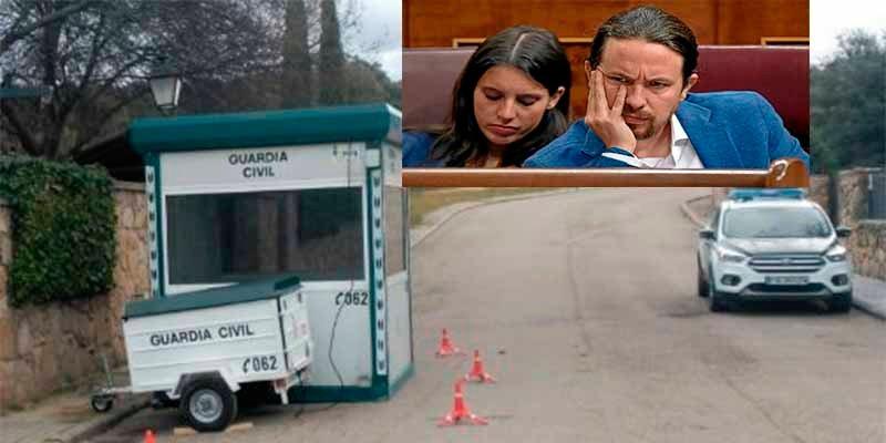 Iglesias y Montero ponen en la 'puta calle' a sus guardaespaldas de la Guardia Civil