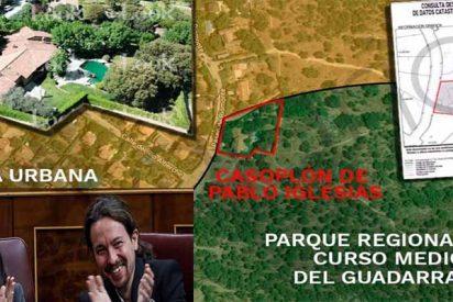 El casoplón de Pablo Iglesias e Irene Montero es ilegal y está construido en un parque natural protegido