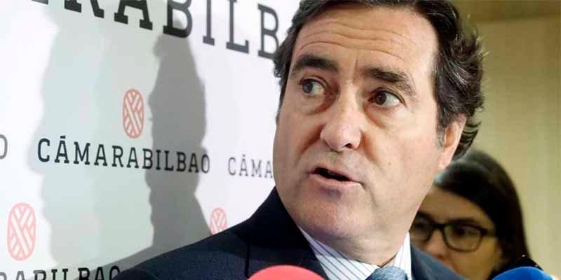 """Antonio Garamendi, presidente de la CEOE, sobre su sueldazo de 300.000 €: """"Creo que es humilde a nivel empresarial"""""""