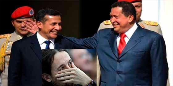 Hugo Chavez financió campaña de Ollanta Humala en Perú... ¿Y Podemos pa cuando?