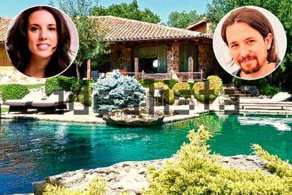 """El casoplón de Pablo Iglesias e Irene Montero: """"Tienen hasta criados, los hemos visto entrar y salir"""""""