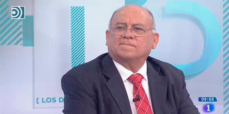 Rosa María Mateo cede el plató de TVE al sicario de Maduro para que haga propaganda de la dictadura chavista