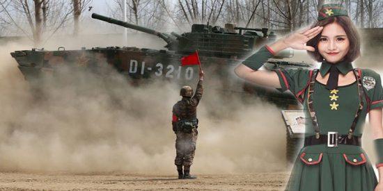 """Los chinos admiten que su son """"unos maletas"""" manejando tanques avanzados"""