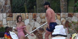 Las fotos de las vacaciones de Chris Pratt con la hija de Arnold Schwarzenegger