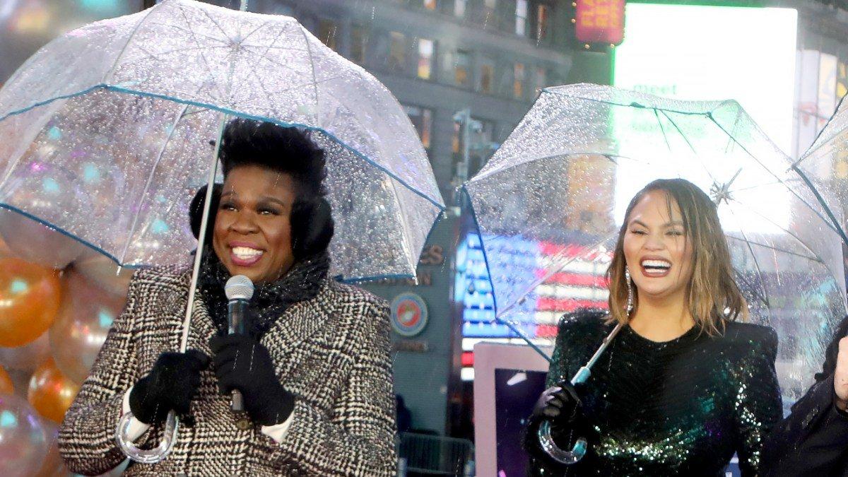 El cómico fail de una presentadora en los festejos de Año Nuevo en Times Square