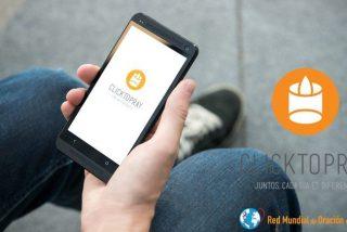 Francisco lanza su perfil de oración en Click To Pray, e invita a descargar la app
