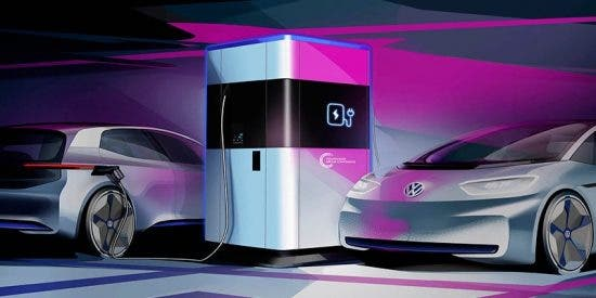 Volkswagen fabricará estaciones de carga portátiles para coches eléctricos