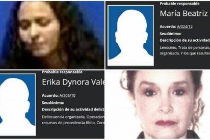 Narcotráfico, lavado de dinero y robo de niños: Los delitos preferidos de las mujeres más peligrosas de México