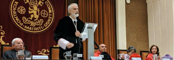 Rector de Comillas muestra su solidaridad con Juan Guaidó