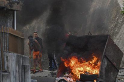 FOTOS: Las imágenes de la sublevación militar contra la dictadura de Maduro