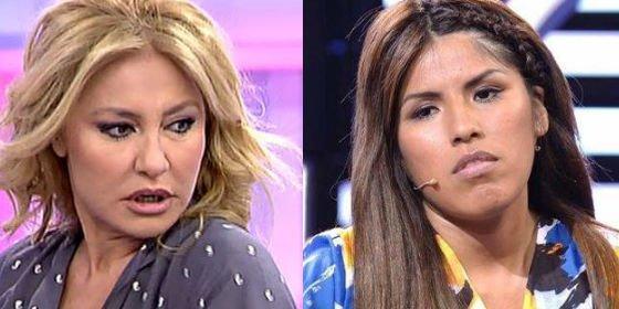 """El ataque sin sentido de Cristina Tárrrega a Isa Pantoja: """"¡Ni te conozco ni te quiero conocer!"""""""