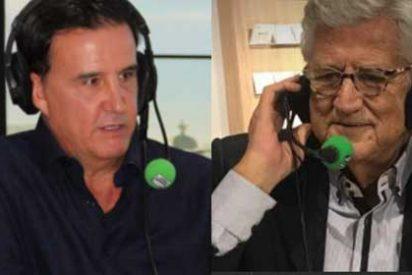 José Ramón de la Morena y Pepe Domingo Castaño rompen en antena con un silencio que ha durado años