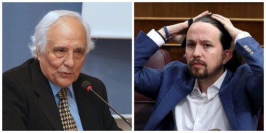 """Raúl del Pozo provoca más escalofríos en Pablo Iglesias intuyendo la nueva """"putada"""" que le hará perder votos"""