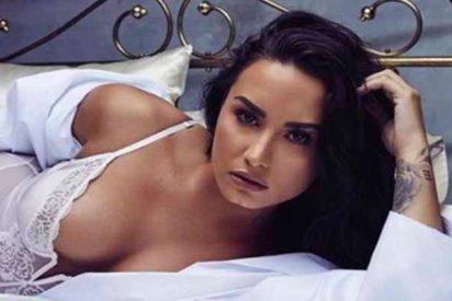 Demi Lovato confirmó su nueva relación amorosa con un beso en las redes sociales