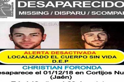 Hallan muerto en el fondo de un barranco al joven de 18 años desaparecido hace un mes en Jaén