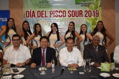 """Paracas celebrará el """"Día Nacional del Pisco Sour"""""""
