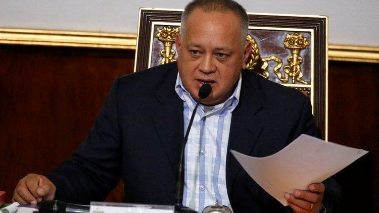 """Diosdado Cabello amenaza a los diplomáticos de EEUU: """"A lo mejor se va la luz en ese sector, no llega el gas"""""""