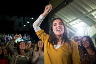 'Zas en toda la boca': Montero acusa a PP, Vox y C's de volver al pasado y un tuitero la deja con las vergüenzas al aire