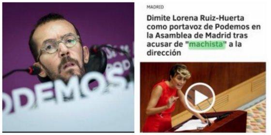 Un tuitero le escupe a Echenique lo que esconde Podemos por decir que Vox compadrea con violadores y asesinos