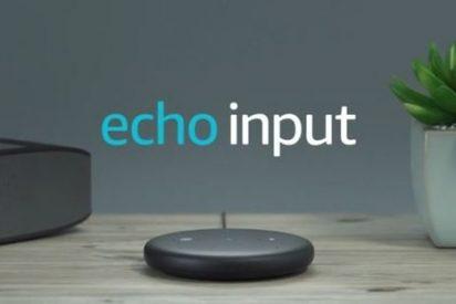 Echo Input de Amazon, añade Alexa a tu altavoz