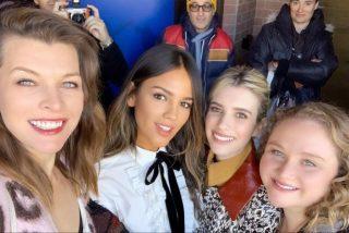 Así festeja Eiza González su cumpleaños junto a Milla Jovovich
