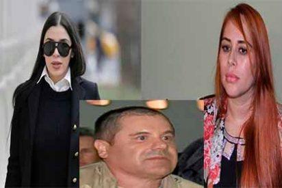 """El juicio de """"El Chapo"""" toca su nivel más íntimo: """"Dos mujeres, un chapito"""""""