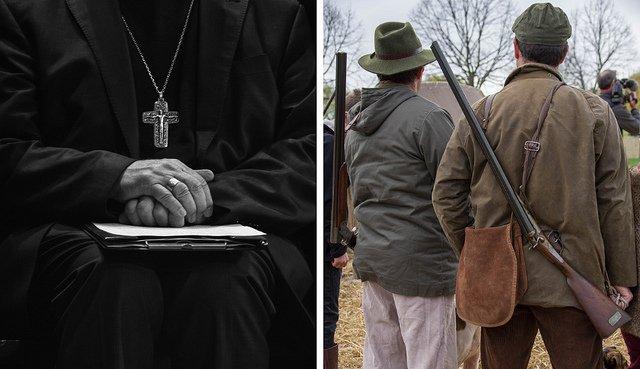 El obispo cazador es de Croacia