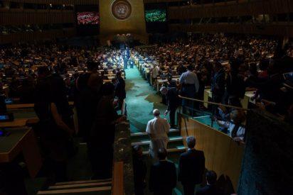 """Auza: """"La ONU cuenta con el Papa Francisco"""""""