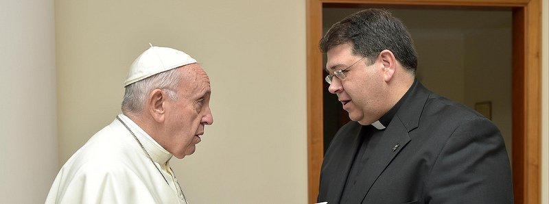"""Papa Francisco: """"Vayan adelante. Esta iniciativa es muy importante"""""""