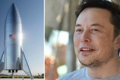 Elon Musk comparte en las redes las pruebas térmicas del cohete Starship