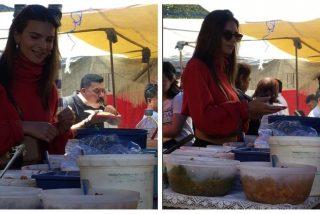 Emily Ratajkowski, descubierta comiendo quesadillas en un local callejero de México
