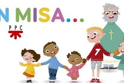 'En misa', nueva colección para acercar la eucaristía a los niños