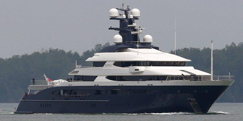 ¿Se vende El Equanimity, este lujoso yate de 130 millones de dólares?